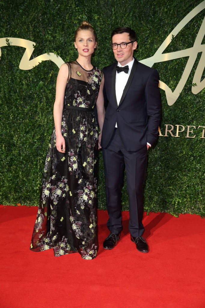 Clémence Poésy & Erderm Moralioğlu British Fashion Awards