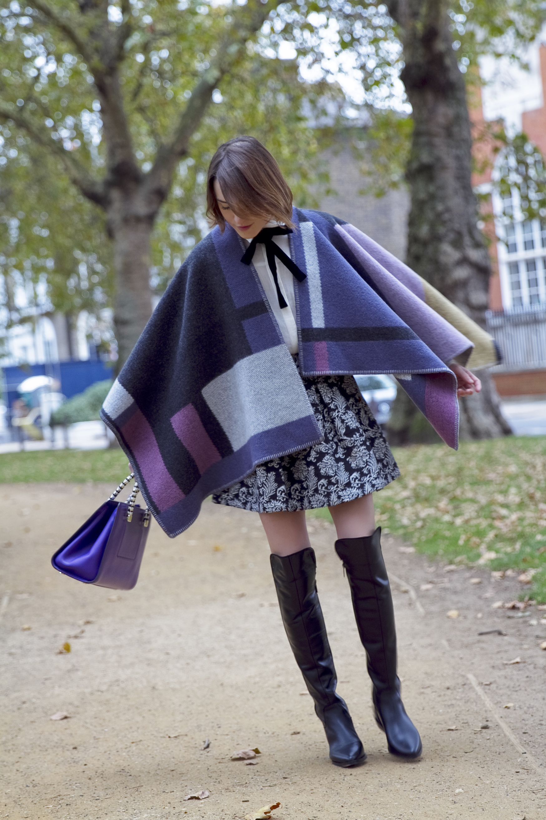 boots, bows, ponchos